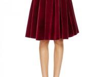 Бархатная юбка — с чем носить: удивительные идеи из индустрии высокой моды (85 фото + видео)