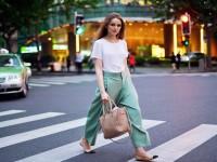 Брюки кюлоты с чем носить: модные сочетания цветов и покроев (58 фото-идей)