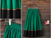 Как украсить юбку — самые красивые и оригинальные идеи на 75 фото!