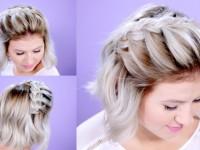 Как заплести короткие волосы? Модные женские и мужские варианты плетения + фото
