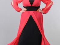 Платья для полных дам — 64 фото популярных покроев и цветовых схем