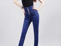 С чем носить высокие джинсы: подбираем обувь, аксессуары и верхнюю одежду (80 фото идей)
