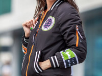 Женская куртка-бомбер — всегда в тренде и всегда в моде (98 фото + видео)