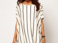 Женская рубашка в полоску — популярный и модный наряд на каждый день (65 фото-идей)