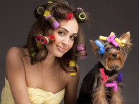 Завивка волос в домашних условиях — что нужно учитывать перед процедурой + фото