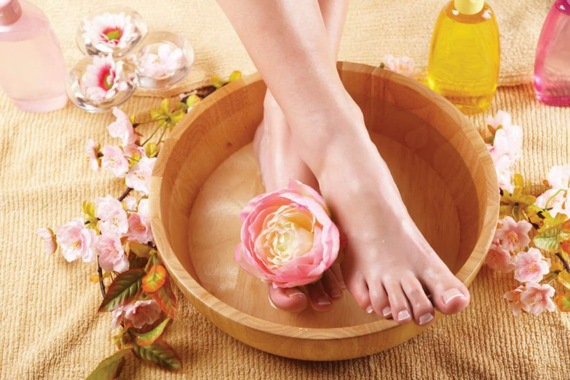 Foot baths at home 10