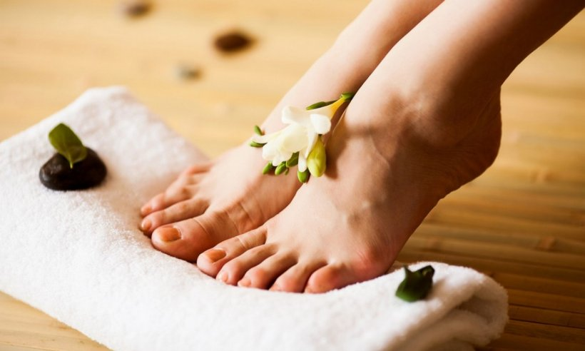 Foot baths at home 15