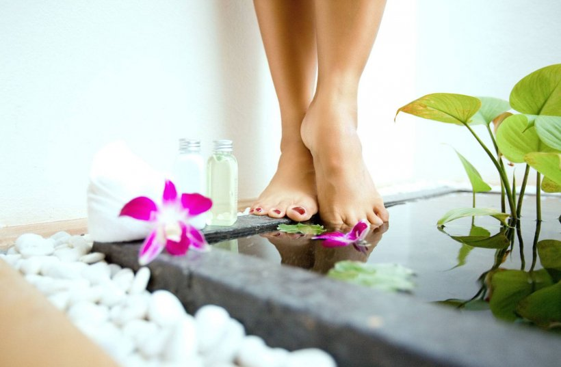 Foot baths at home 19