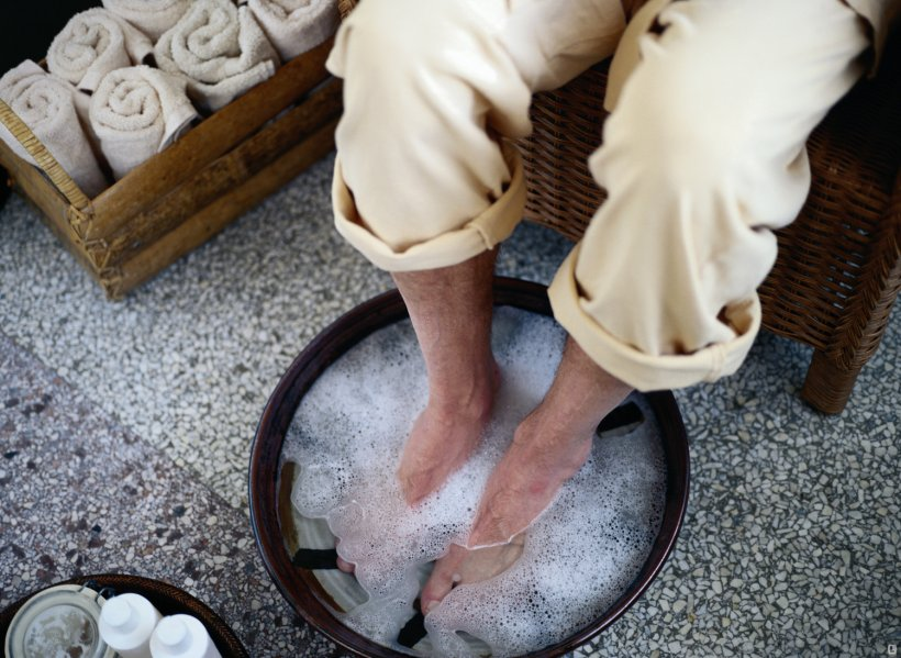 Foot baths at home 2 8