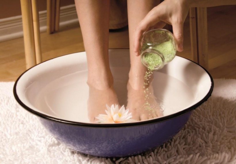 Foot baths at home 21