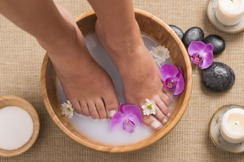 Foot baths at home 3