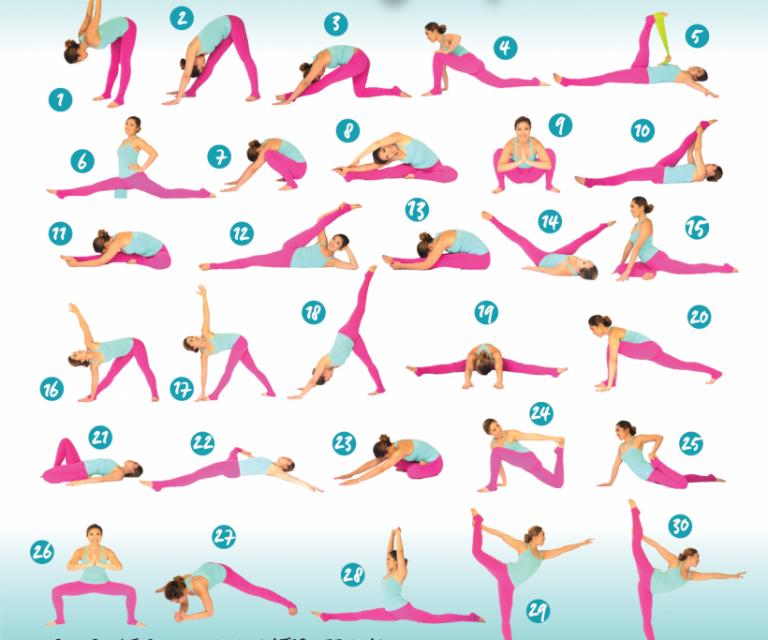 Упражнения на растяжку всего тела в домашних условиях