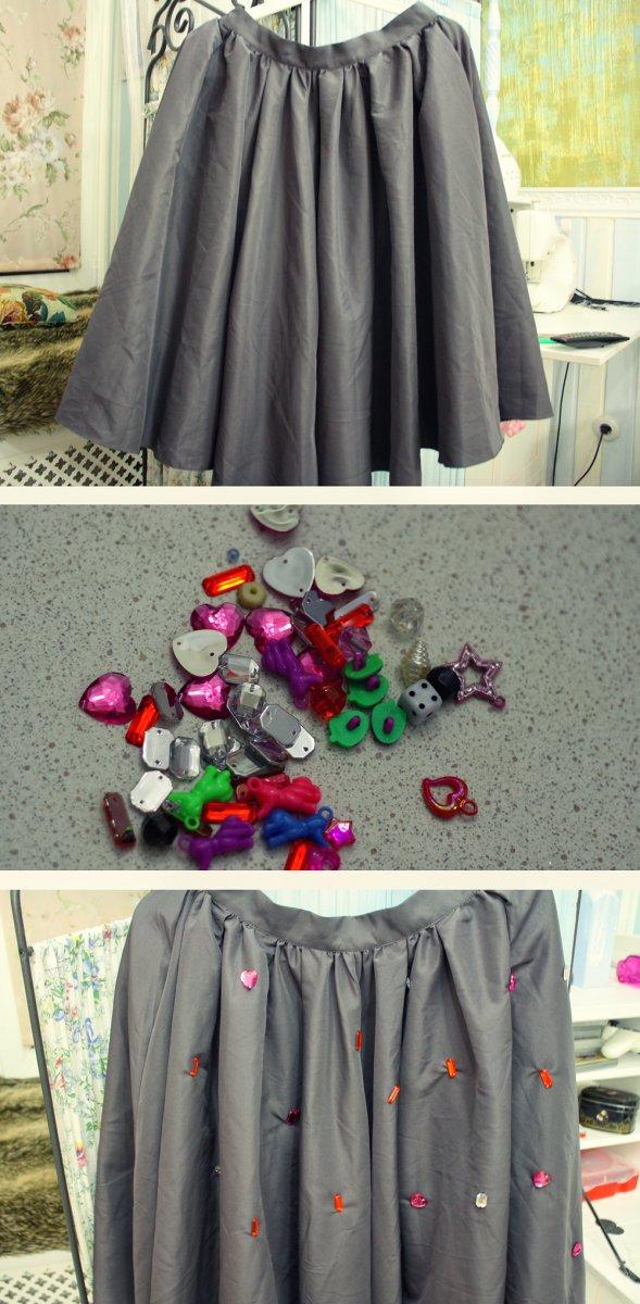 Украсить юбки своими руками