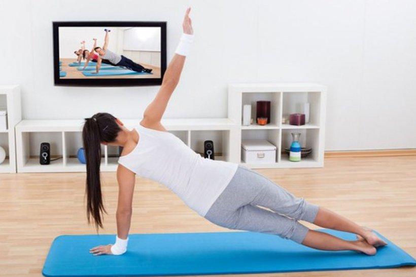 Физическое занятие в домашних условиях