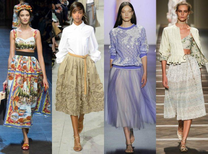 Какие сейчас в моде юбки фото