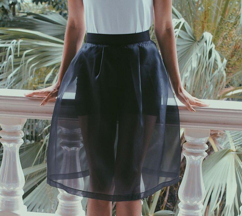 Organza skirt 11