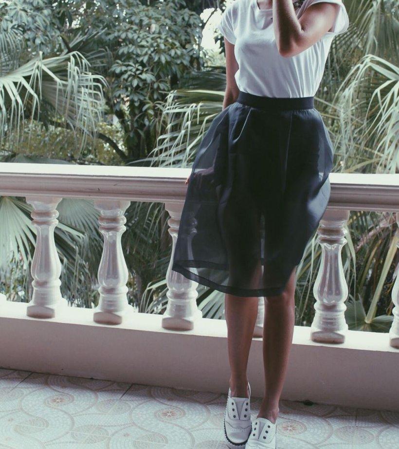 Organza skirt 4 12