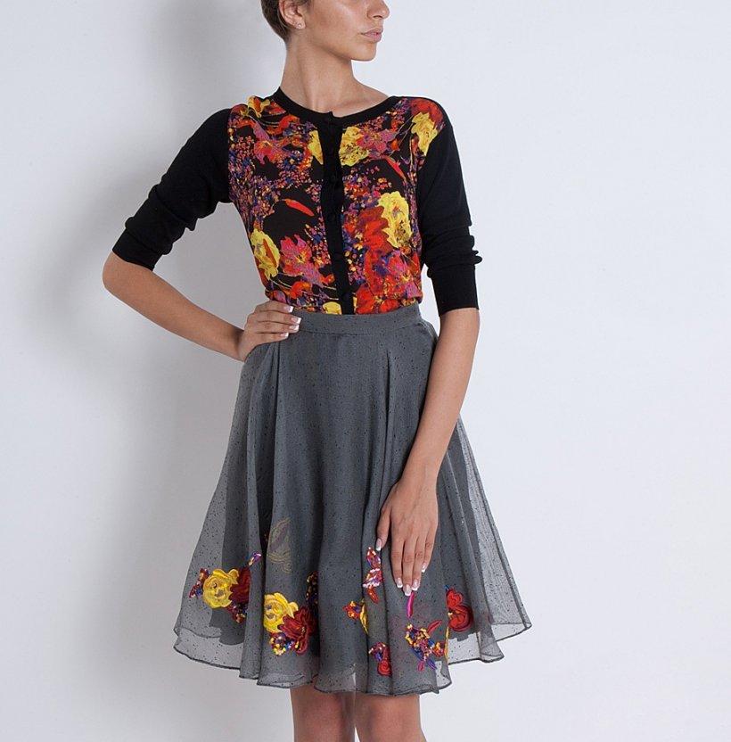 Organza skirt 4