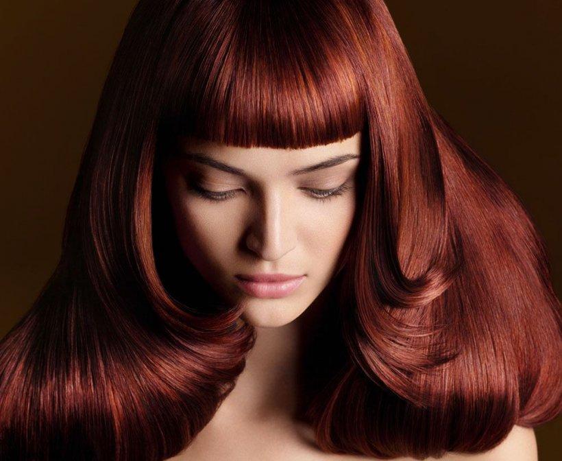 Однотонное окрашивание волос цвета