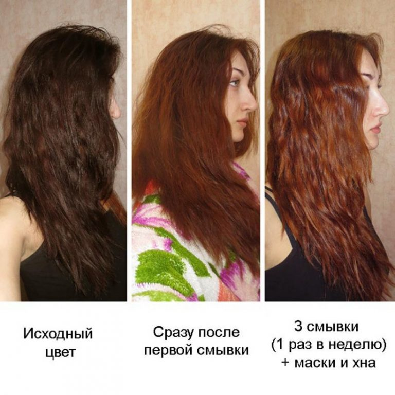 Чем вывести красную краску с волос в домашних условиях