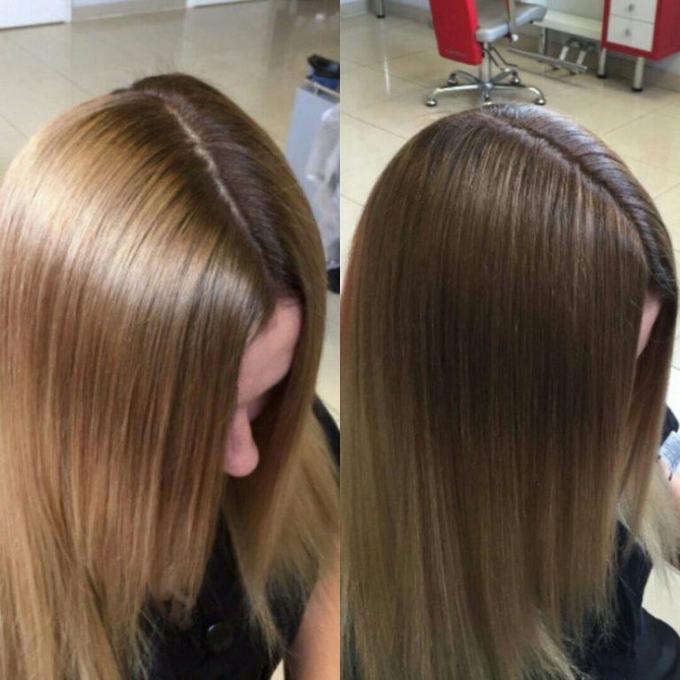 Почему желтые волосы после мелирования
