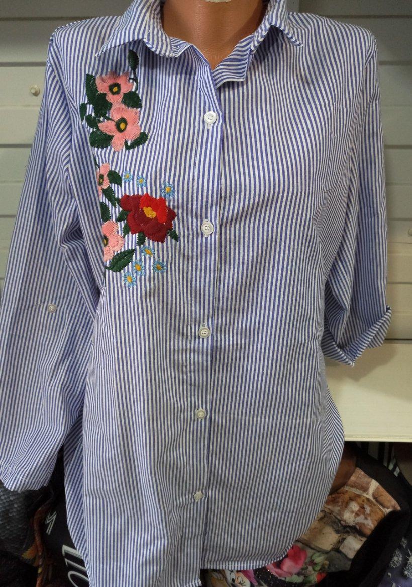 Фото рубашек с вышивкой