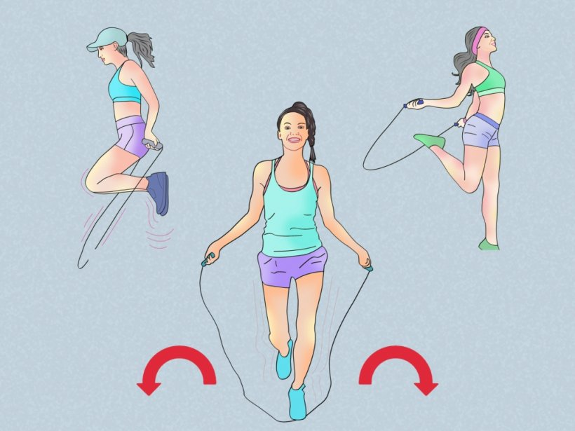 How to lose weight with a rope 10