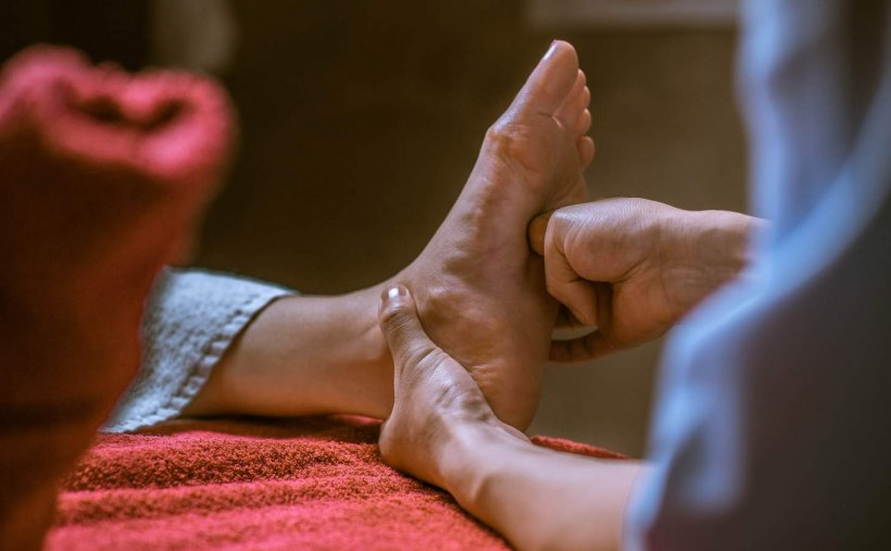 Kak delat massazh nog 25